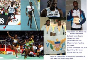 Read more about the article V.I. Elite Track and Field Stars on world stage…