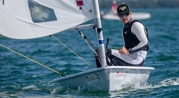 Read more about the article Cy Thompson has sailed his way into the 2016 Olympic Games