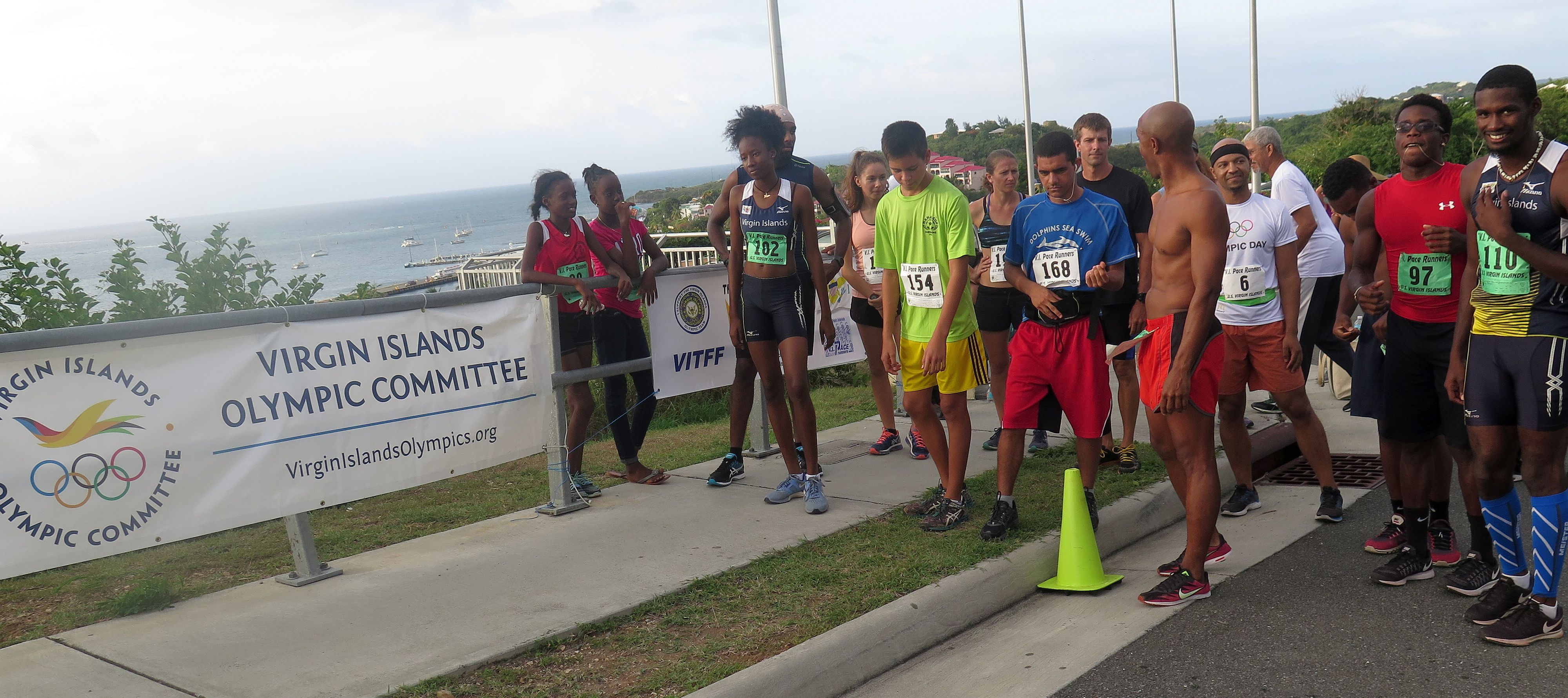 31st Olympic Day Run, St. Croix