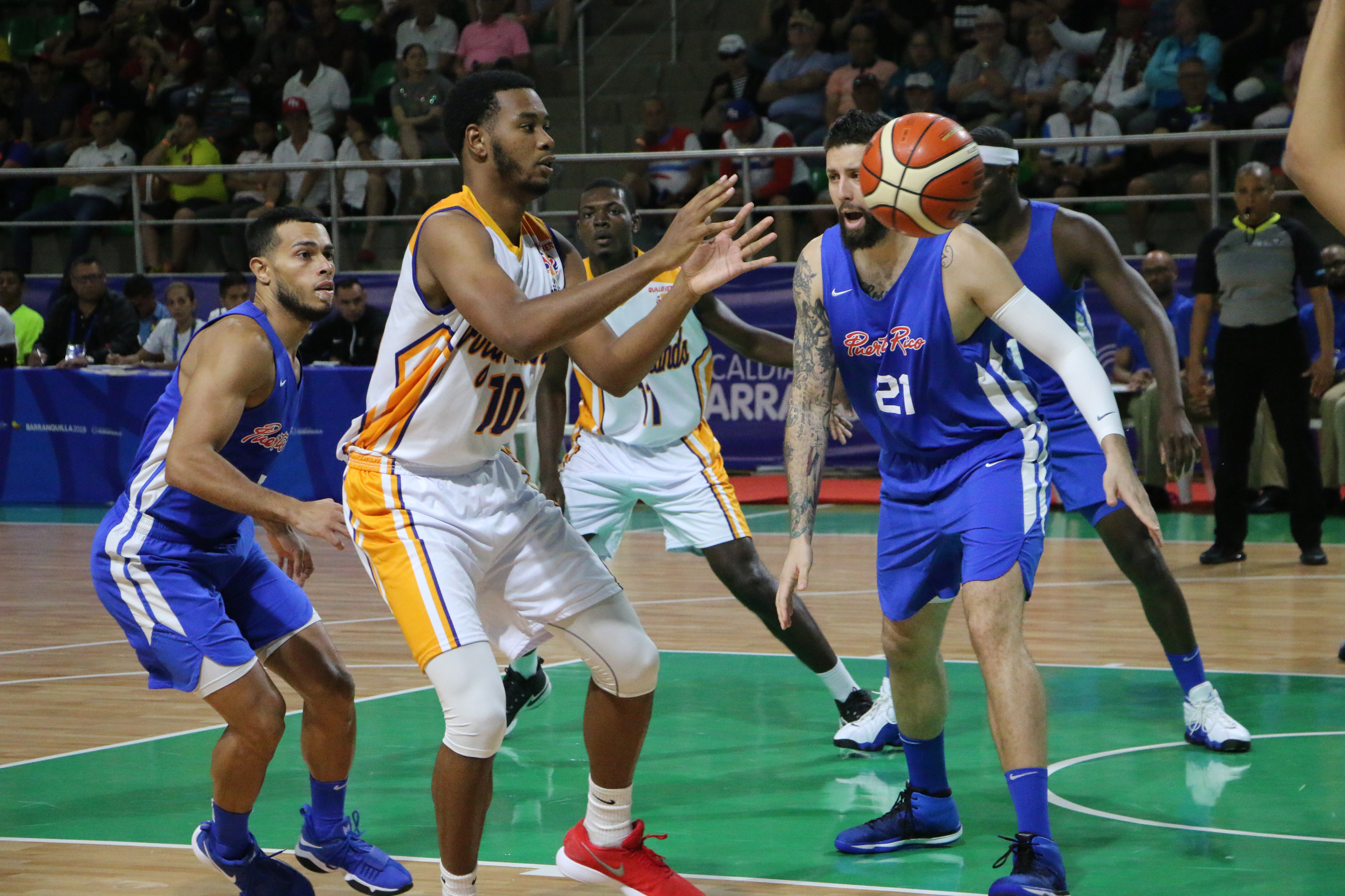 You are currently viewing Athletics and Men's Basketball begin competition for Team ISV at the 2018 CAC Games