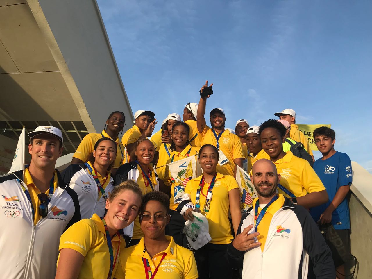 Read more about the article Delegation of Virgin Islands Athletes set to compete in 2018 Central American and Caribbean Games