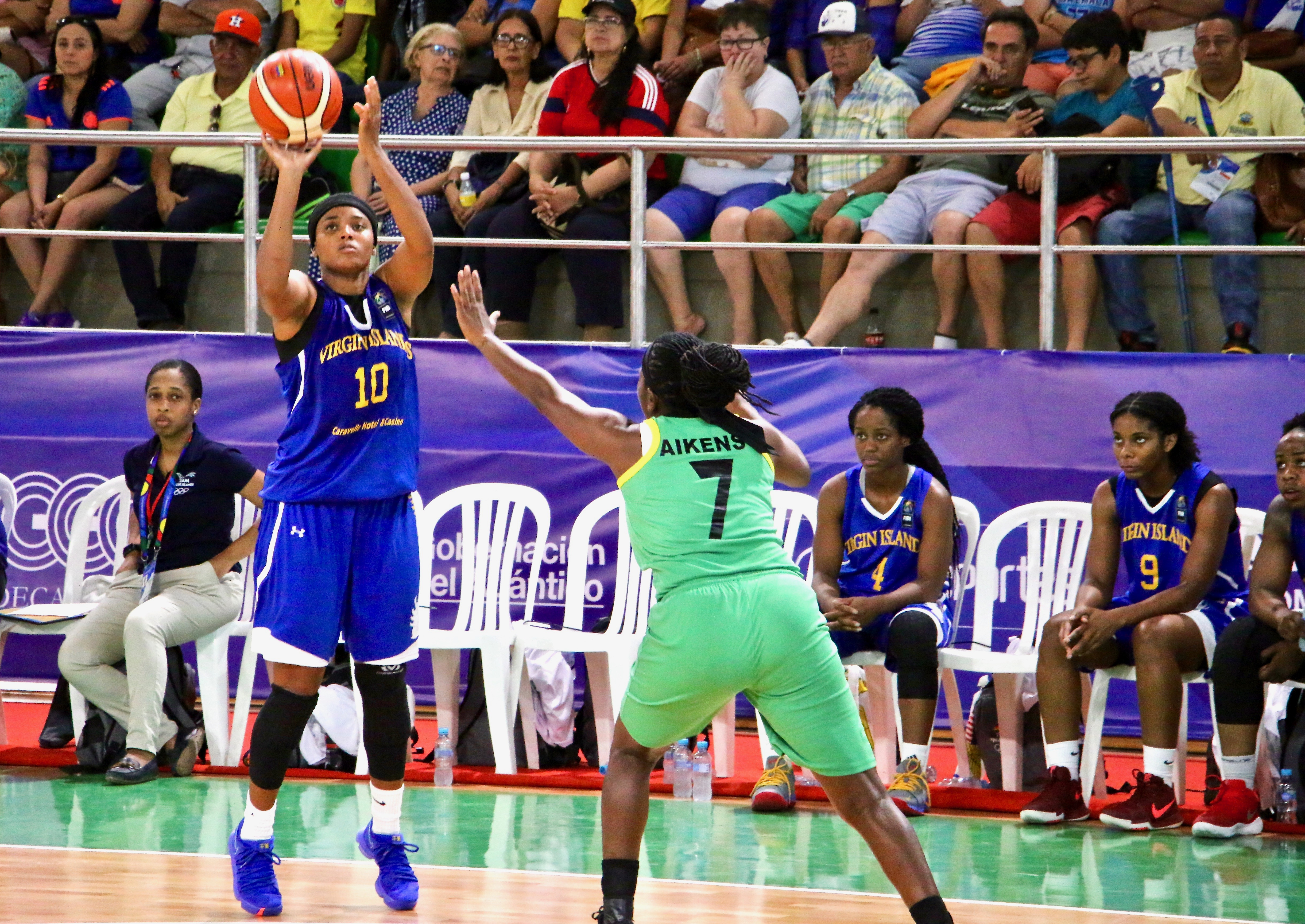 You are currently viewing Team ISV Women's Basketball Suffers Losses in Games and Players during 2018 CAC Tournament, Remain Confident Moving Forward
