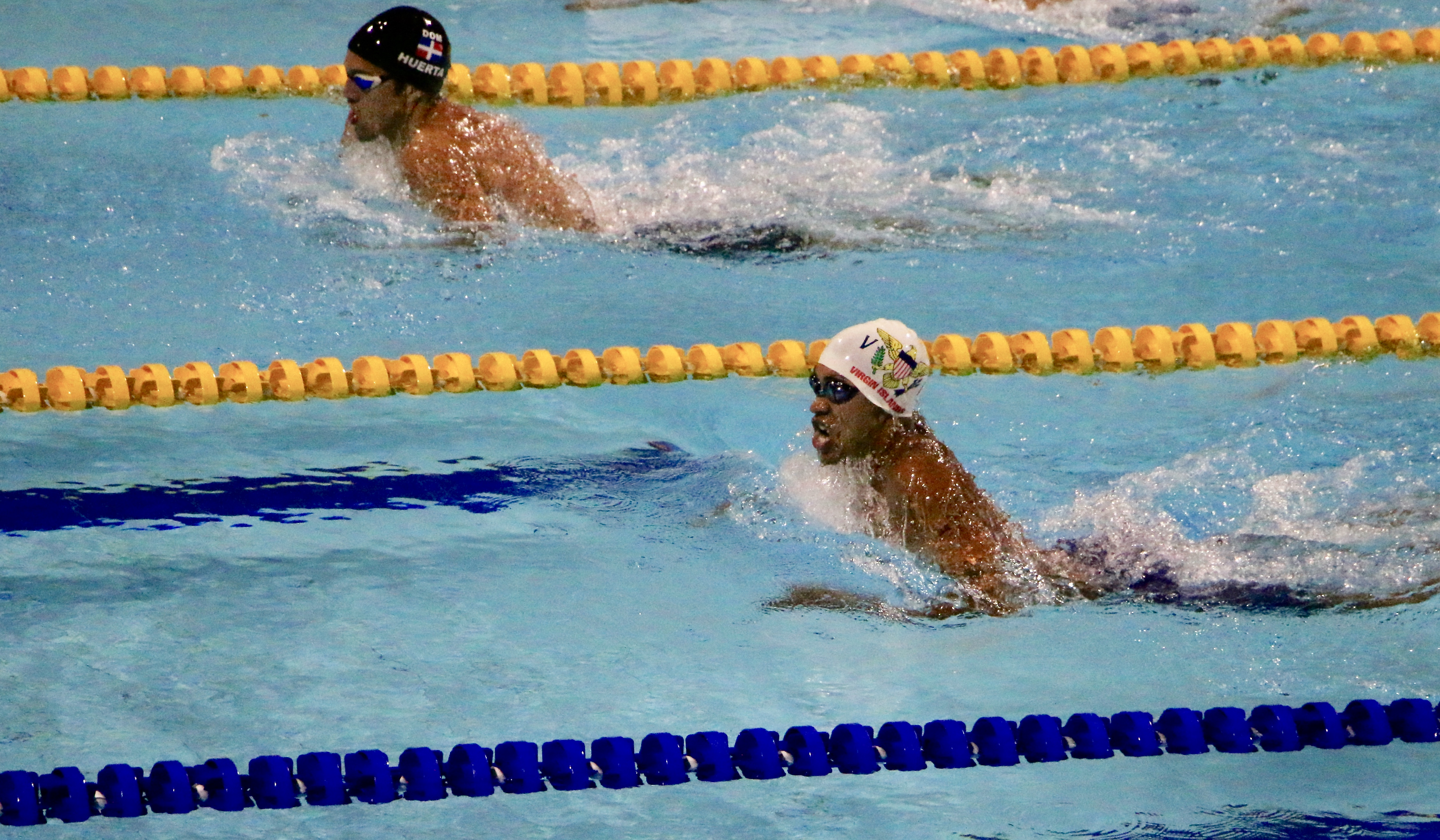 You are currently viewing Sanes Doubles Down on VI Swimming Records at CAC Games