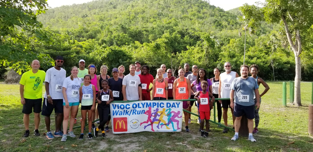 St. Thomas Olympic Day Two Mile Run Results