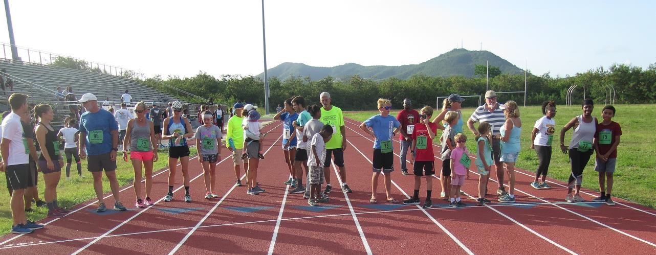 """St. Croix Olympic Day Run """"The Magic of the Mile"""""""