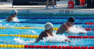 """Read more about the article Adriel Sanes Tokyo Olympic """"B"""" qualifying time of 2:14.26"""